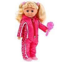 Кукла озвученная 'Наташа в спортивном костюме' 32 см,100 фраз, музыка 'Волшебный цветок'