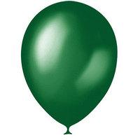 Шар латексный 12', металлик, набор 100 шт., цвет зелёный