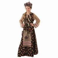 Детский карнавальный костюм 'Баба-яга', р-р 56, рост 98-104 см
