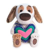 Мягкая игрушка 'Бартоломей BABY с сердечком из флиса', 20 см