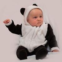 Детский карнавальный костюм 'Малышка-панда' комбинезон, на 6-9 месяцев (рост 75 см)