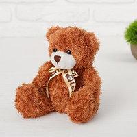Мягкая игрушка 'Медведь с бантом', 20 см, цвет МИКС