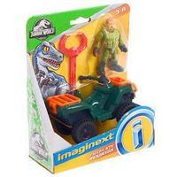 Игровой базовый набор Imaginext Jurassic World, фигурка техника МИКС