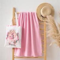 Набор LoveLife 'Princesses' сумка-шопер 33*39 см флисовый плед 150*130 см