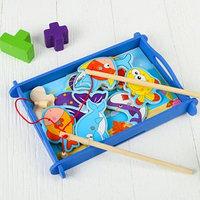 Рыбалка 'Водный мир', 12 элементов 2 удочки