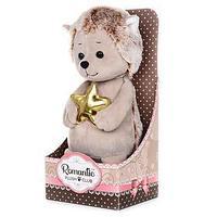 Мягкая игрушка 'Романтичный Ежик с Золотой Звездочкой' 20 см