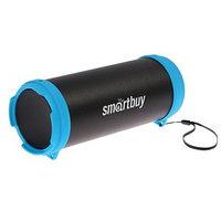 Портативная колонка SmartBuy MKII, 6 Вт, Bluetooth, FM-радио, USB, черно-синяя