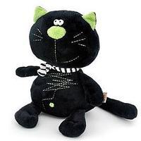 Мягкая игрушка 'Кот Батон', цвет чёрный, 20 см