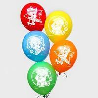 Воздушные шары 'Paw patrol', Щенячий патруль (набор 25 шт) 12 дюйм