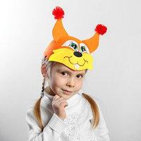 Карнавальная шляпа детская 'Белка', р-р. 52-54