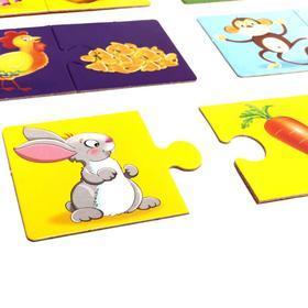 Развивающая игра 'Кто что ест' - фото 2