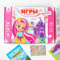 Развивающий набор для творчества 'Замок принцессы' карандаши, пластилин