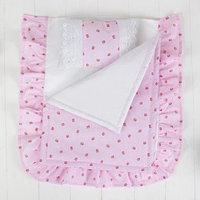 Постельное бельё для кукол 'Розочки', простынь, одеяло, подушка
