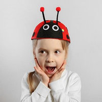Карнавальная шляпа детская 'Божья коровка', р-р. 52-54