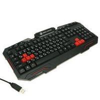 Клавиатура Dialog KGK-11U Gan-Kata, игровая, проводная, мембранная, 114 клавиш, USB, чёрная