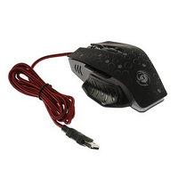 Мышь Dialog MGK-11U Gan-Kata, игровая, проводная, подсветка, 2400 dpi, USB, чёрная