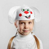 Карнавальная шляпа детская 'Зайчик', р-р. 52-54