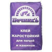 Клей жаростойкий для печей и каминов 'Печникъ' 20,0 кг