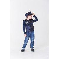 Детский карнавальный костюм 'Машинист поезда', жилет, кепка, 4-6 лет, рост 110-122 см