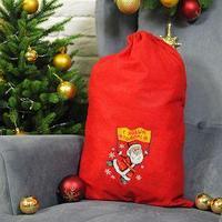Мешок Деда Мороза 'С Новым Годом!', 60x90 см
