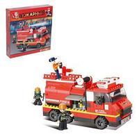 Конструктор 'Пожарная машина', 281 деталь