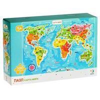 Пазл 'Карта мира'