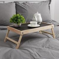 Столик для завтрака 'Ренессанс', натуральный, 50x30 см