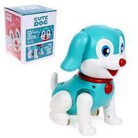 Собака 'Тобби', ходит, работает от батареек, свет, звук, МИКС