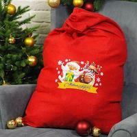 Мешок Деда Мороза 'С Новым Годом', 60 х 90 см