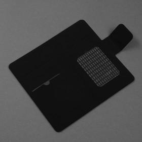 Чехол-книжка для телефона Maverick Slimcase, универсальный, 5-5.2', чёрный - фото 2