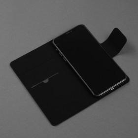 Чехол-книжка для телефона Maverick Slimcase, универсальный, 5-5.2', чёрный - фото 3