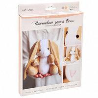 Мягкая игрушка 'Плюшевый зайка Боня', набор для шитья, 18,5 x 22,8 x 2,5 см