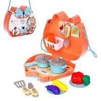 Набор посуды для пикника в сумочке 'На природу' с продуктами