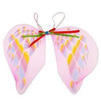 Карнавальные крылья 'Ангел', для детей, с узорами, цвет розовый