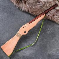 Сувенирное деревянное оружие 'Ружьё охотничье', массив бука