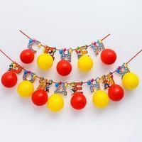 Гирлянда на ленте с воздушными шарами 'С Днем Рождения!', Микки Маус и друзья