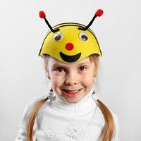 Шляпа карнавальная 'Пчёлка с глазками', р-р. 52-54