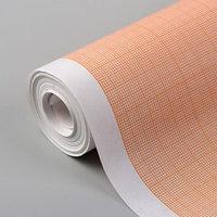 Масштабно-координатная бумага, 60 г/кв.м, 64 см, 10 м, цвет оранжевый
