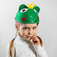 Карнавальная шляпа детская 'Царевна-лягушка', р-р. 52-54