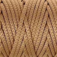 Шнур для рукоделия полиэфирный 'Софтино' 4 мм, 50м/110гр (горчичный) МИКС