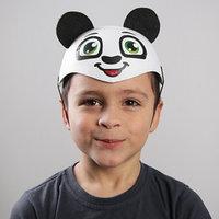 Карнавальная шляпа 'Панда', р-р. 52-54