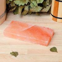 Кирпич из гималайской соли, шлифованный, 20x10x3см, 'Добропаровъ'