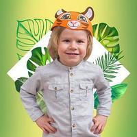 Карнавальная шляпа 'Тигр', р-р. 52-54