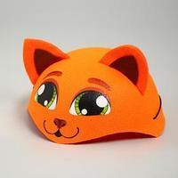 Карнавальная шляпа 'Рыжая кошка', р-р. 52-54