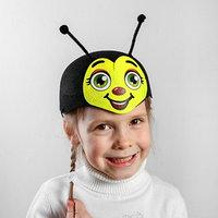 Карнавальная шляпа 'Пчёлка', р-р. 52-54