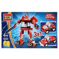 Конструктор 'Робот 3 в 1', 77 деталей