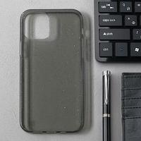 Чехол Activ SC123, для Apple iPhone 12/12 Pro, силиконовый, чёрный