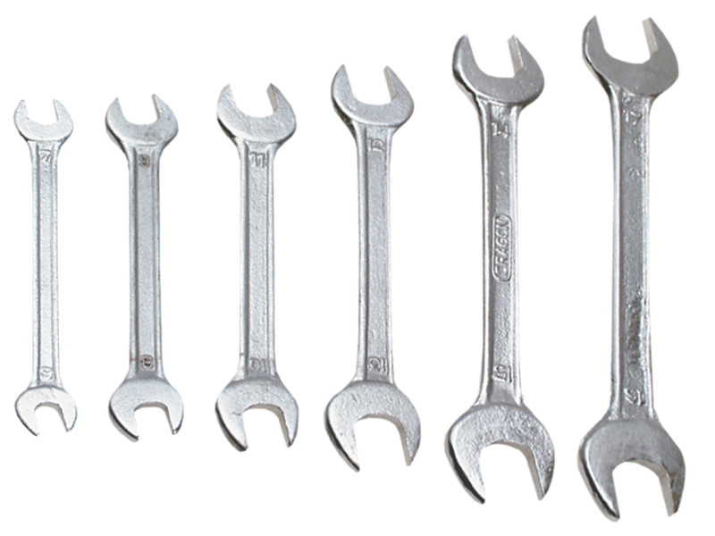 Рожковые ключи 10x12 мм