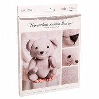 Мягкая игрушка 'Плюшевый котик Вилли', набор для шитья, 18.5 x 22.8 x 2.5 см