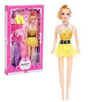Кукла модель 'Виктория', с набором платьев, обувью и аксессуарами, МИКС